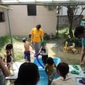 7月ジュニア(水遊び)